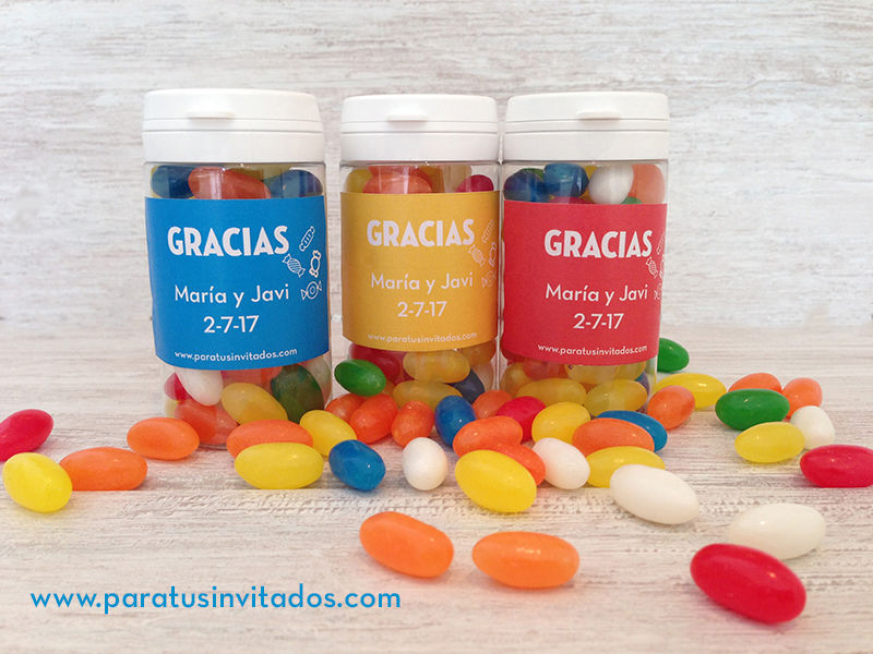 Caramelos personalizados
