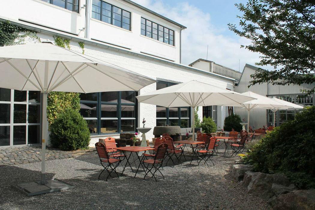 Beispiel: Außenbereich, Foto: Alte Tuchfabrik.