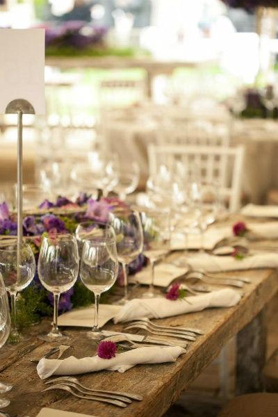 Diseños elegantes en montaje y coordinación de eventos - Foto Banquetes Ambrosía