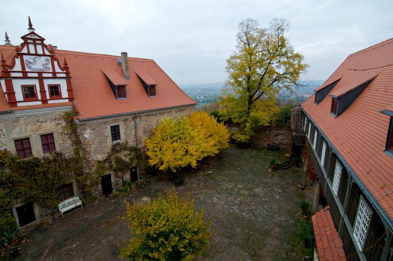 Beispiel: Innenhof, Foto: Schloss Scharfenberg.