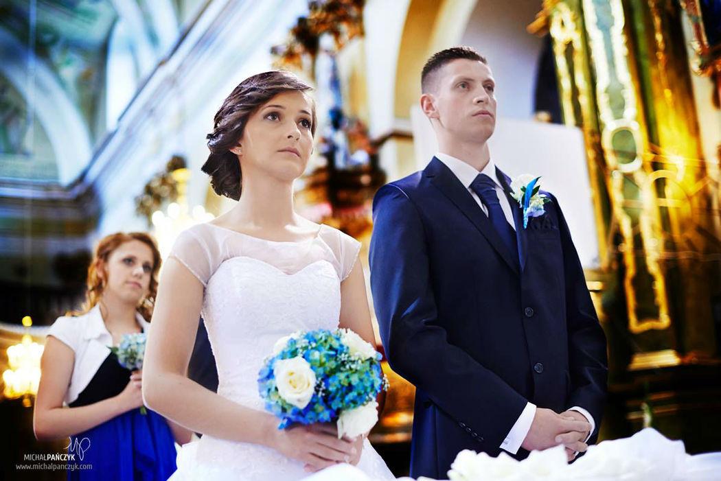 Para Młoda podczas ceremonii