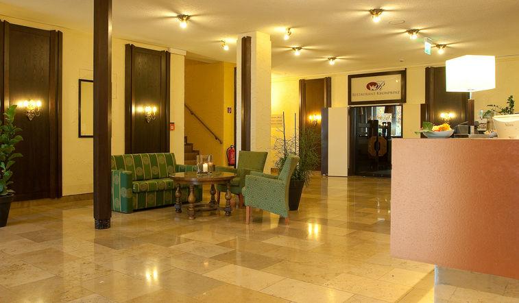 Beispiel: Lobby, Foto: Best Western Parkhotel Krone.