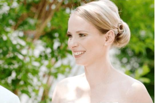 Beispiel: Wunderschönes Make-up für die Braut, Foto: Mio Make-up Artist.