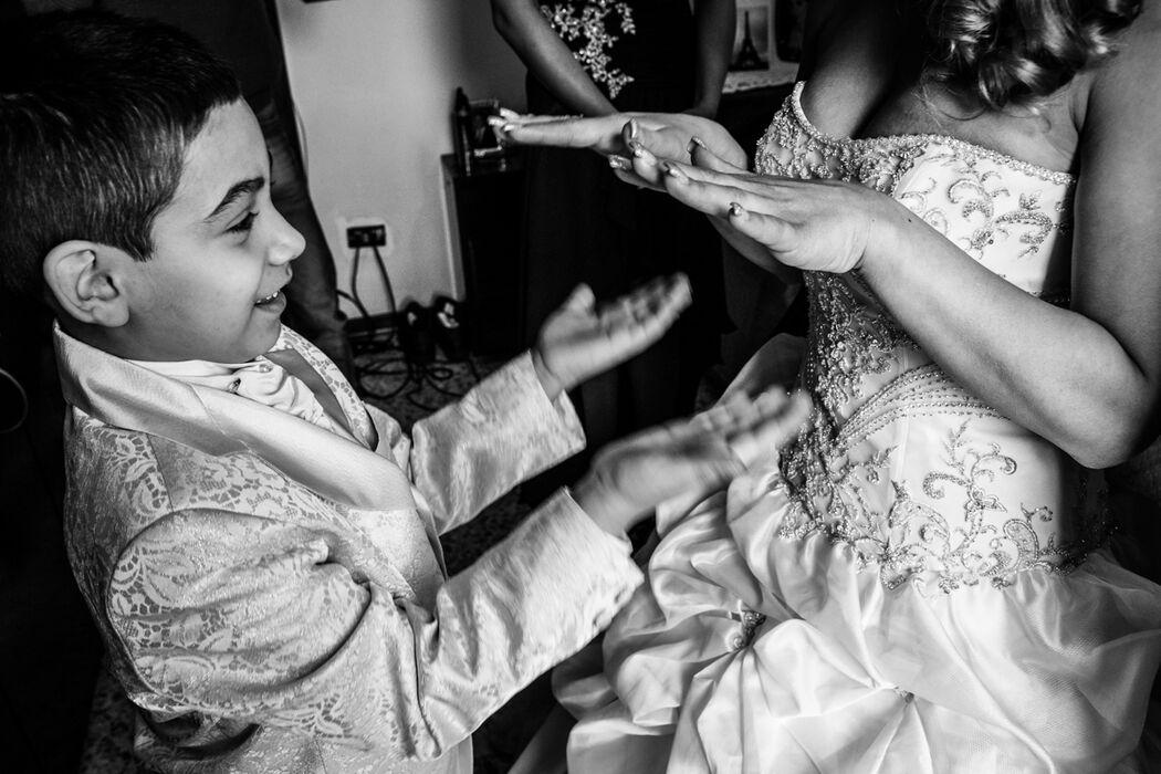 Francesca Boccabella, fotografa di matrimoni in tutta Italia e all'estero.