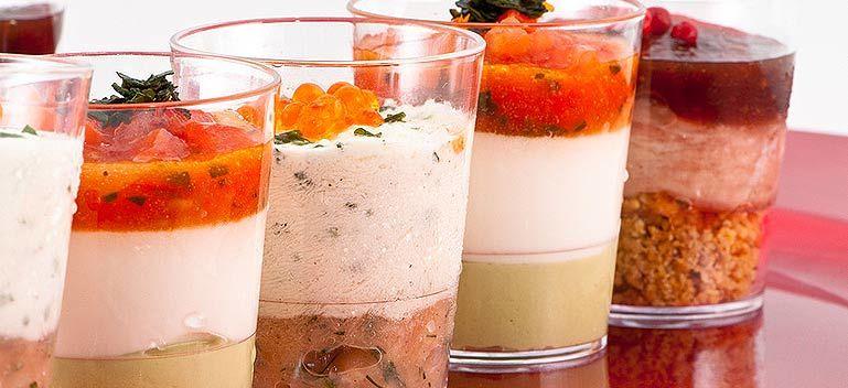 Beispiel: Kreative Speisen, Foto: Select Catering.