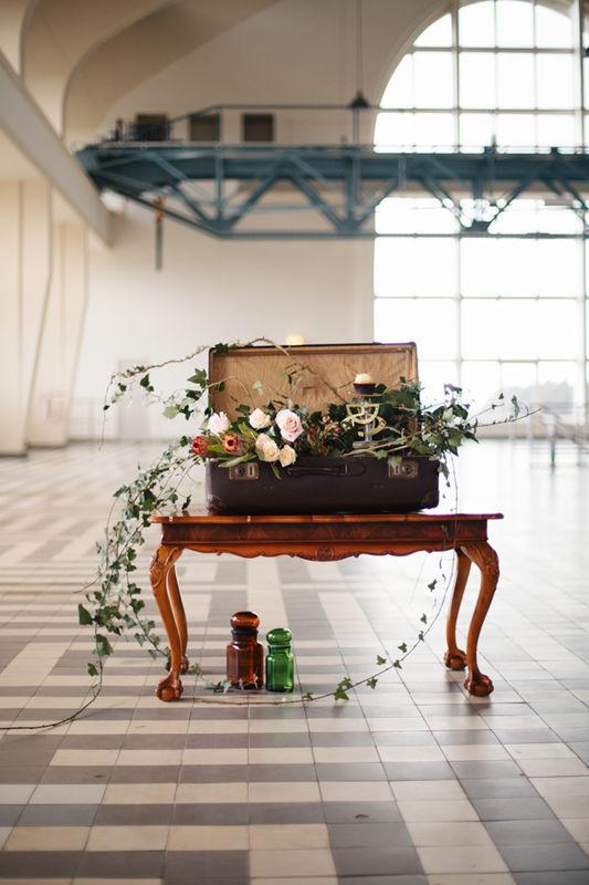 steampunk wedding styled shoot. Fotocredits: Marije van der Leeuw