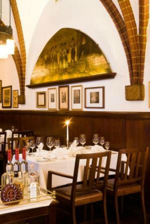 Beispiel: Goethezimmer im Restaurant Historische Weinstuben, Foto: Auerbachs Keller.