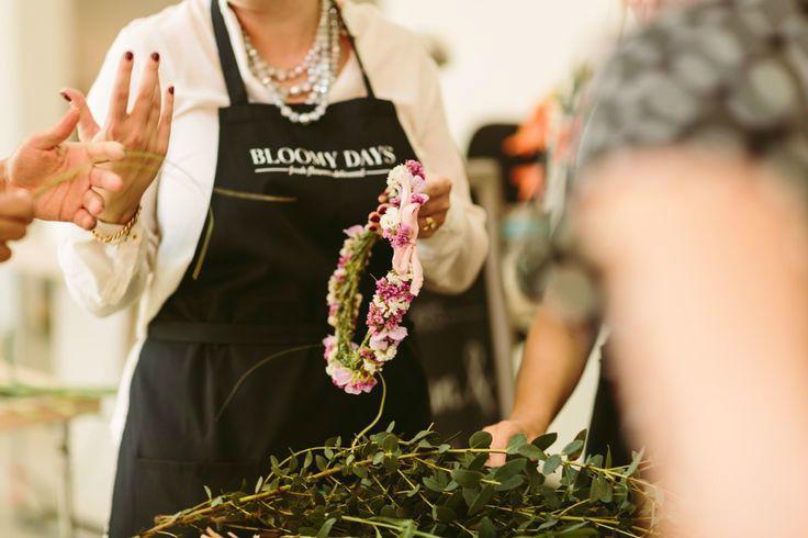 Beispiel: Die Floristen bei der Arbeit, Foto: BLOOMY DAYS.