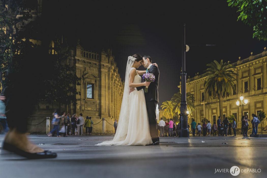 Boda de Ana Belén&Ernesto en Sevilla. Javier dePablo Fotógrafos.