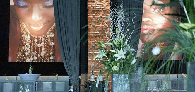 Beispiel: Eventfloristik, Foto: Blumenfee Dresden.