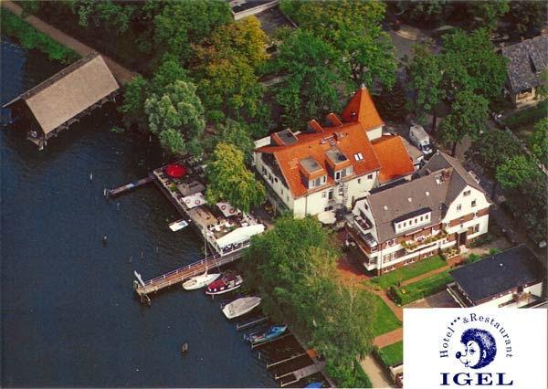 Beispiel: Luftaufnahme, Foto: Hotel Restaurant Igel.