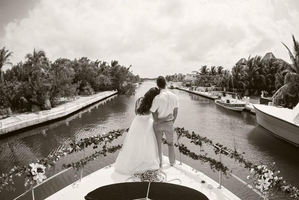 bodas en yates