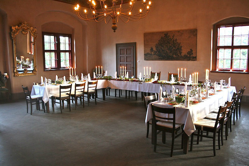 Beispiel: Musiksalon, Foto: Schloss Scharfenberg.
