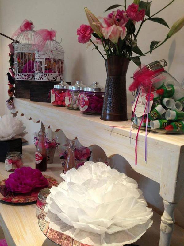 Mesa de dulces Lua