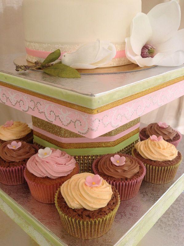 LADY NANNY Mariages_Création sur-mesure et unique Pièces Montées de Cupcakes
