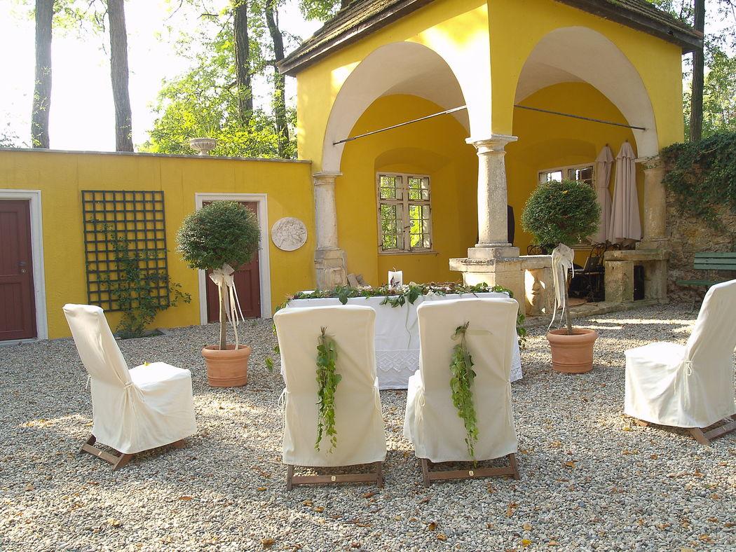 Heiraten in Österreich - Heiraten in einem herrschaftlichen und gemütlichen Schloss in der Steiermark  (Fotocredit: Dean Vrakela)