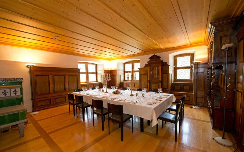 Beispiel: Pfyfferstube, Foto: Wasserschloss Wyher.