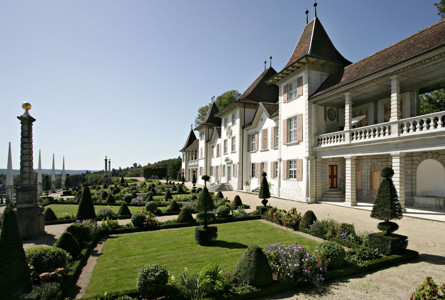 Beispiel: Barockgarten, Foto: Schloss Waldegg.