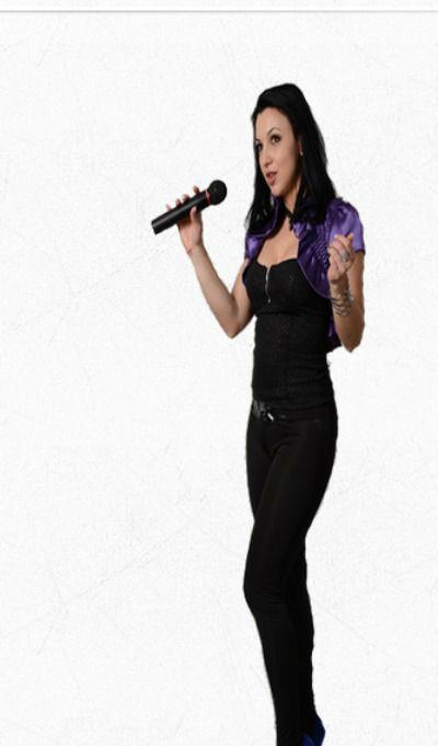 Beispiel: Weibliche Gesangsstimme, Foto: LUCA - The Finest Top Music.