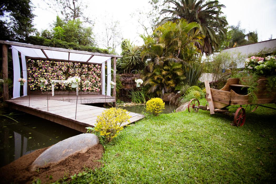 Área de boda civil...             Un sueño hecho realidad