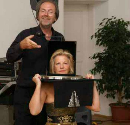 Beispiel: Zaubershow, Foto: Music & Magic.