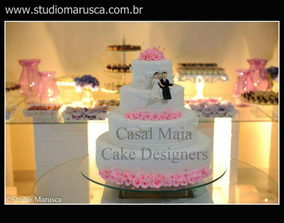 Casal Maia Cake Designers. Foto: Studio Marusca