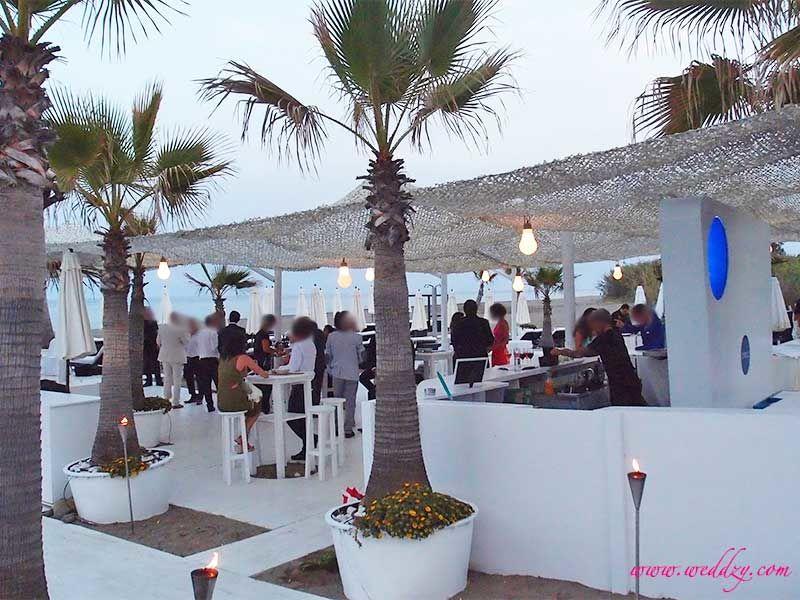 Mariage en Espagne, face à la mer