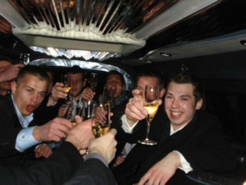 Beispiel: VIP clubbing, Foto: Nightlife Agents Hamburg.