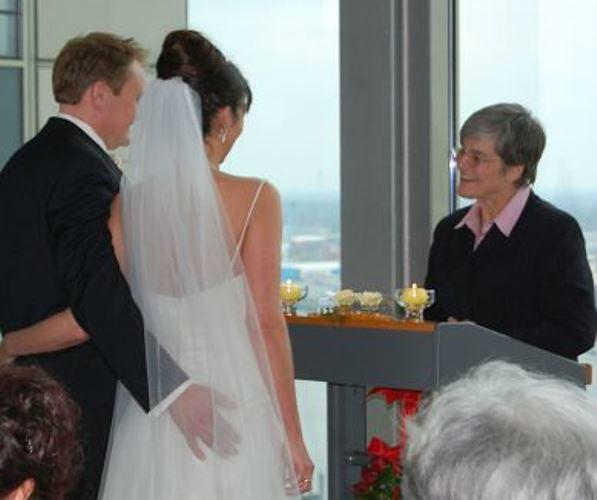 Beispiel: Hochzeitsrede, Foto: Sabine Zimmermann.