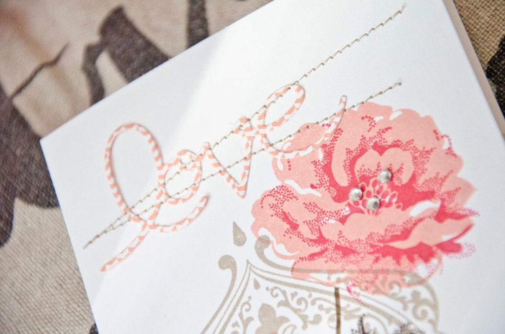 Beispiel: Karte zur Hochzeit