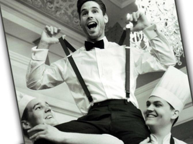 Beispiel: Herrenmode die begeistert, Foto: Modehaus Zins.