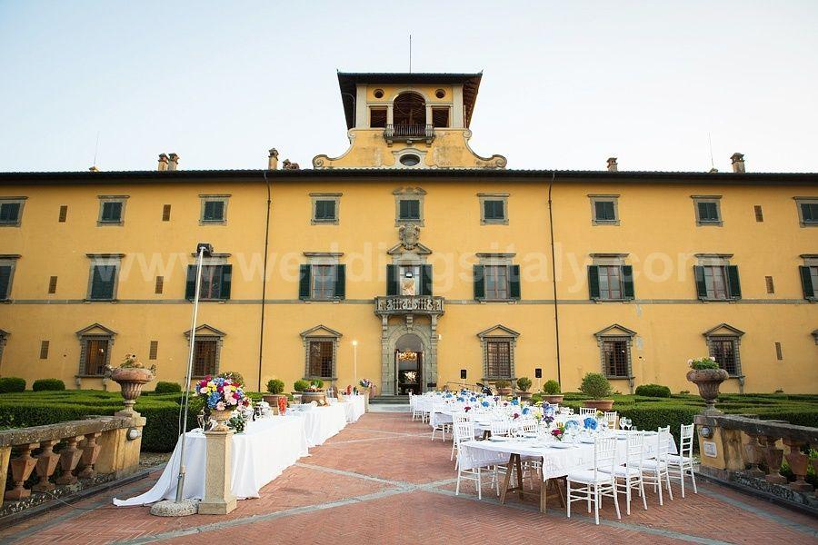 Villa Castelletti- Aperitivo in Facciata