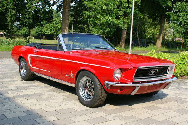 Beispiel: Ford Mustang - Ihre Fahrt ins Glück, Foto: Hamburger Oldtimer Verleih.