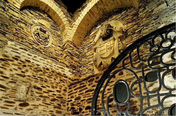 Beispiel: Gewölbe, Foto: Ritterburg Lockenhaus.