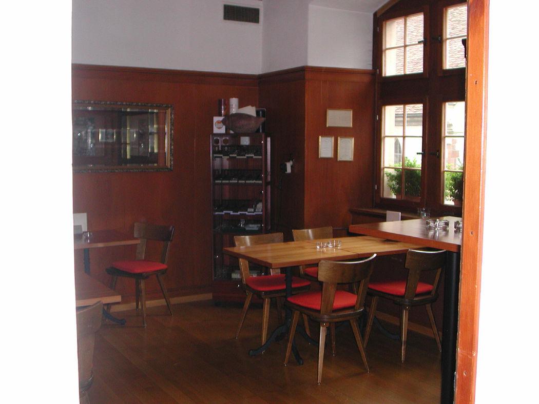Beispiel: Fumoir, Foto: Restaurant Gemeindehaus.
