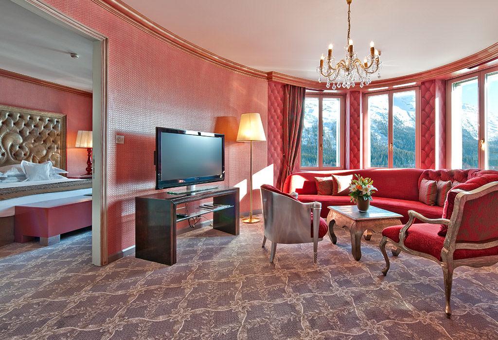 Deluxe Suite, Wohnzimmer