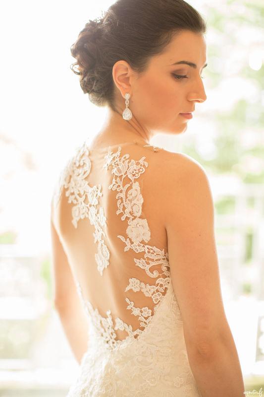 La magnifique robe de la mariée