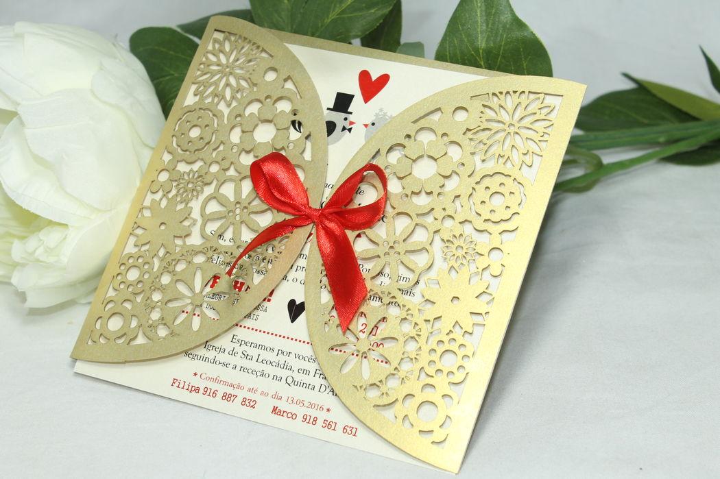 Convite de casamentos