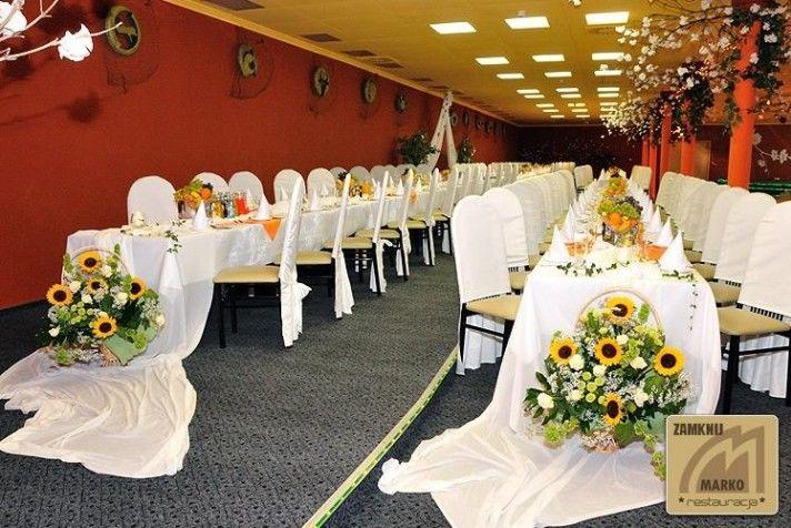 Zajazd u Jana Pięknie udekorowana sala weselna