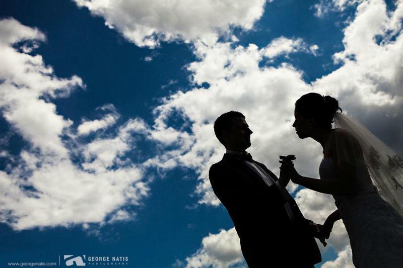 Beispiel: Innovative Fotos von Ihrer Hochzeit, Foto: George Natis Photography.