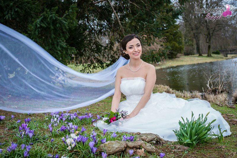 Beispiel: Portrait der Braut, Foto: Photography Spiegel.