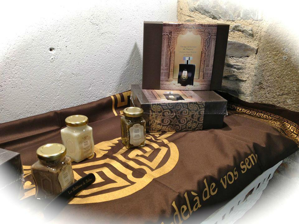 soins corps la sultane de saba massage Beauté Zen Institut guer