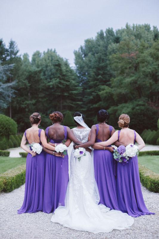 Mariage C&F | La mariée et ses demoiselles d'honneur
