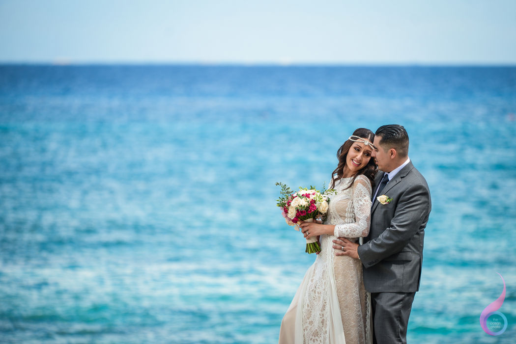 The Ocean Photo WeddingsWedding Occidental at Xcaret Destination Riviera Maya photographer