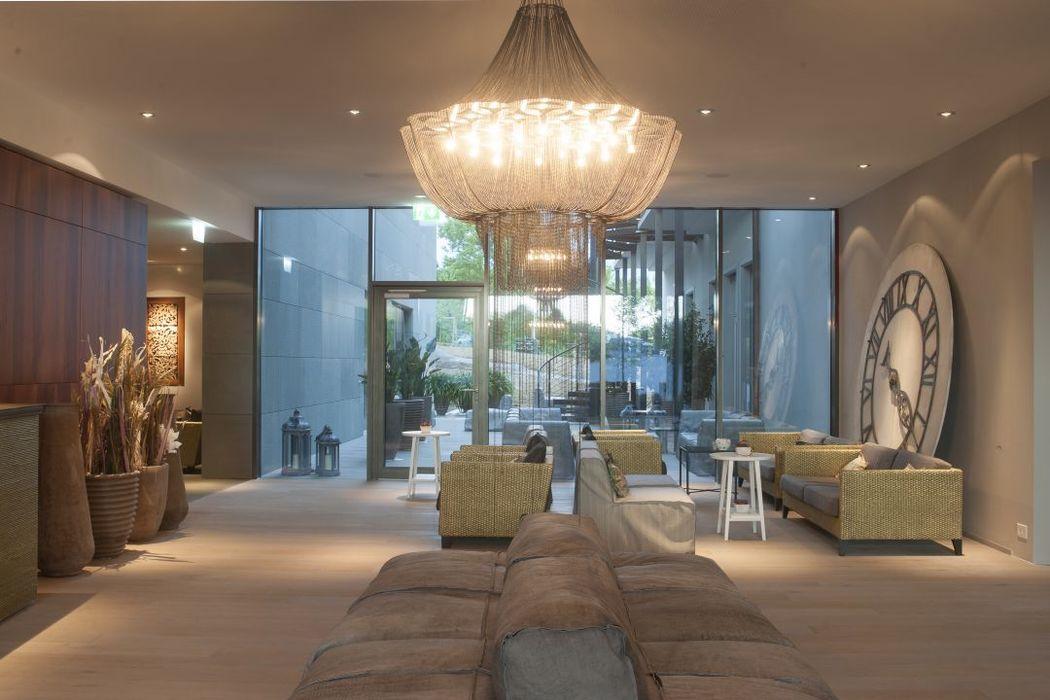 Beispiel: Lobby, Foto: Seerose Resort & Spa.