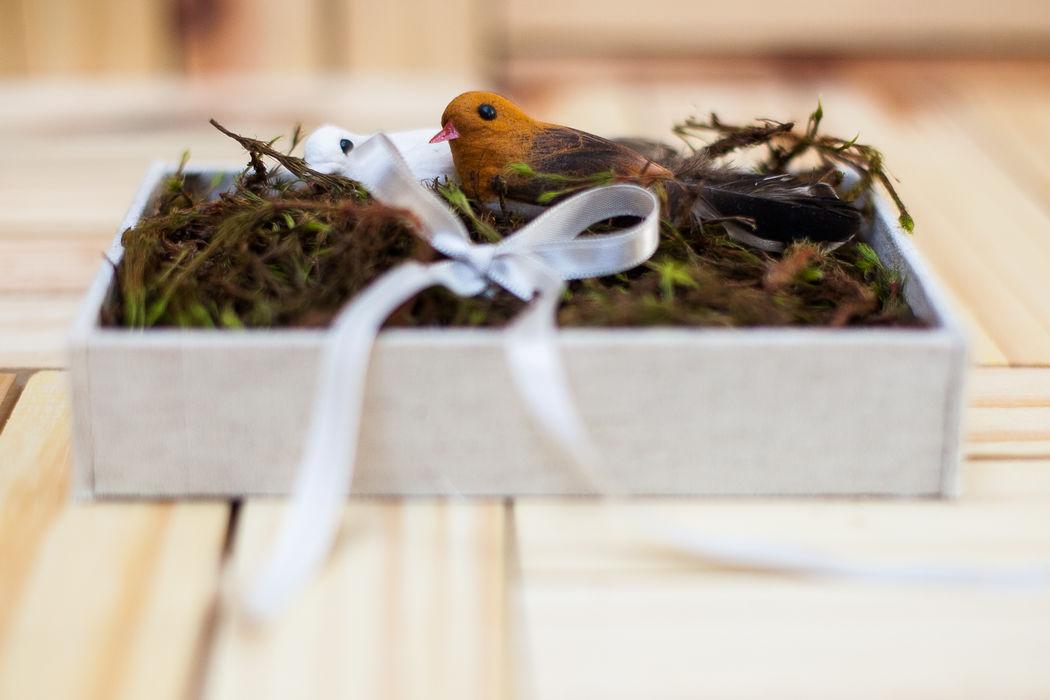 Porta Alianças Birds