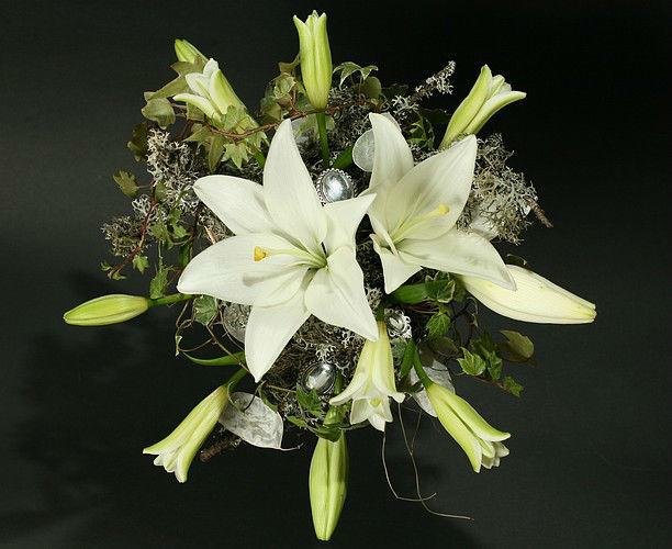 Beispiel: Blumen für die Braut, Foto: Edelkraut Event-Floristik.