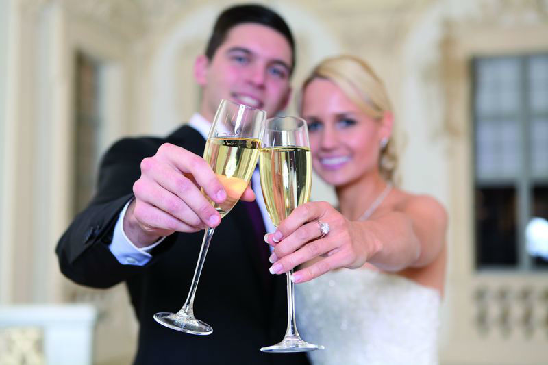 Beispiel: Brautpaar, Foto: Schloss Bruchsaal.