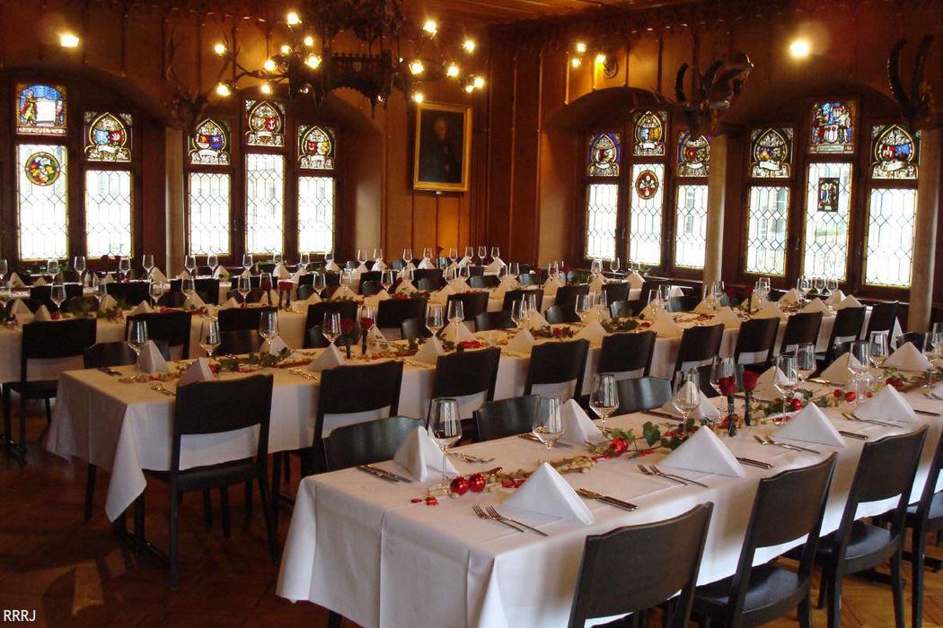 Beispiel: Ihre Hochzeitstafel, Foto: Restaurant Rathaus.