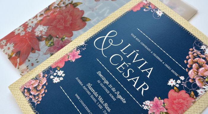 Convite de casamento Susana Fujita